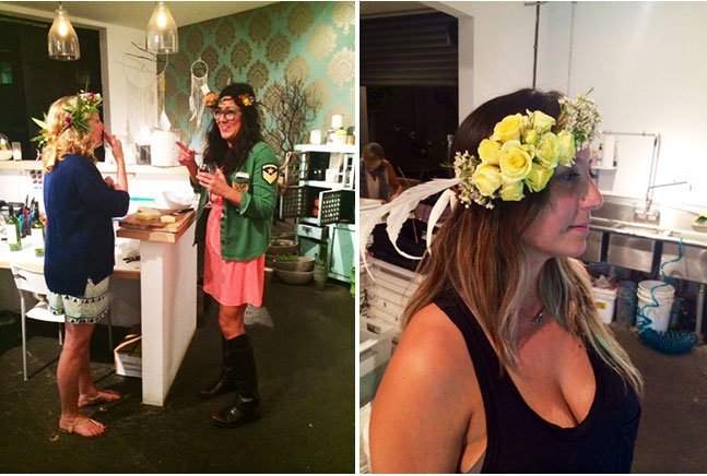 Flower Crowns Workshop