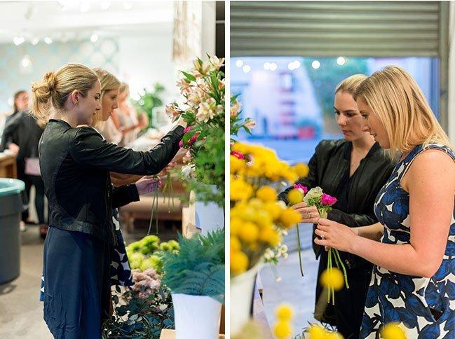 Floral Workshops in Santa Monica