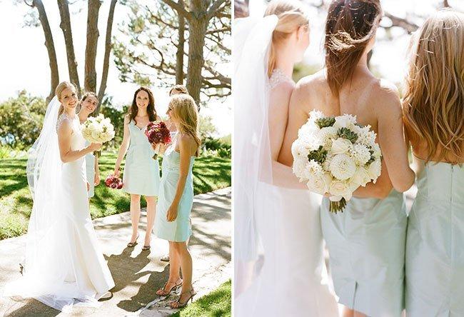 Summer Wedding White Bouquet