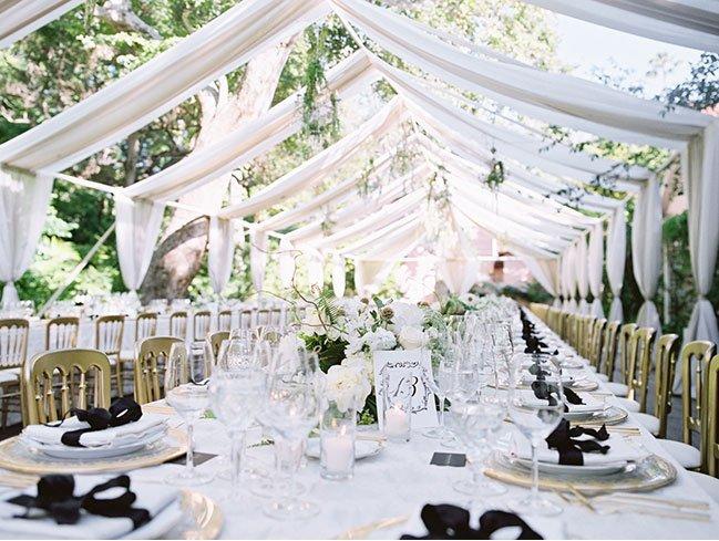 Enchanted Garden Wedding in Bel Air!