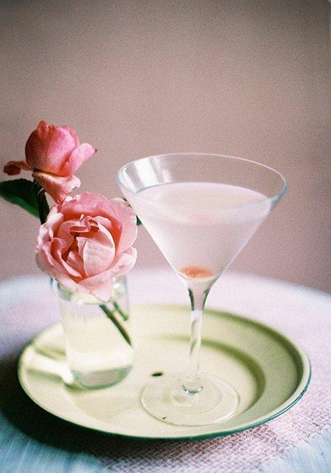Summer Botanical Cocktails: Rose Martini