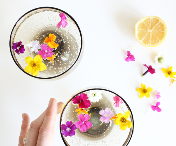 Summer botanical cocktails white wine spritzer with edible flowers summer botanical cocktails white wine spritzer with edible flowers mightylinksfo
