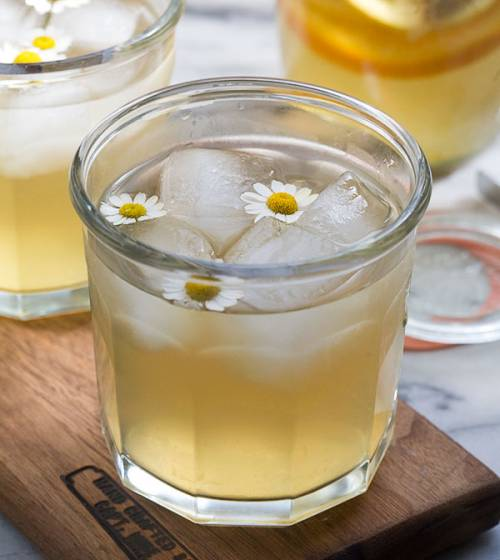 Chamomile Whiskey Cocktail
