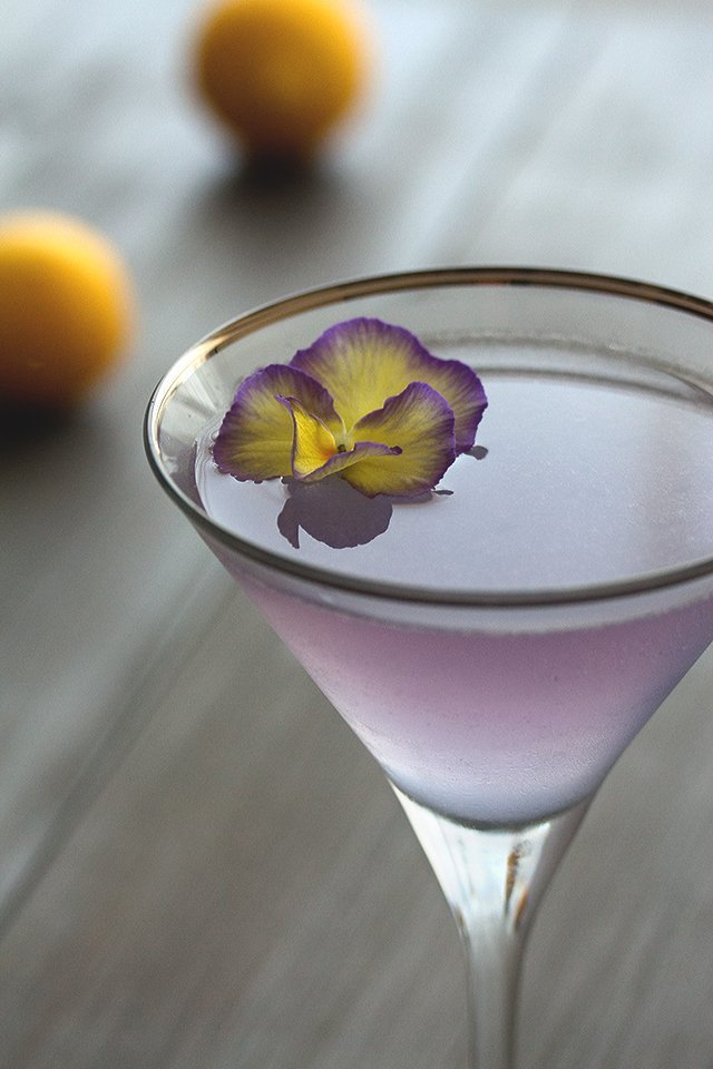 Summer Botanical Cocktails: Aviation Cocktail