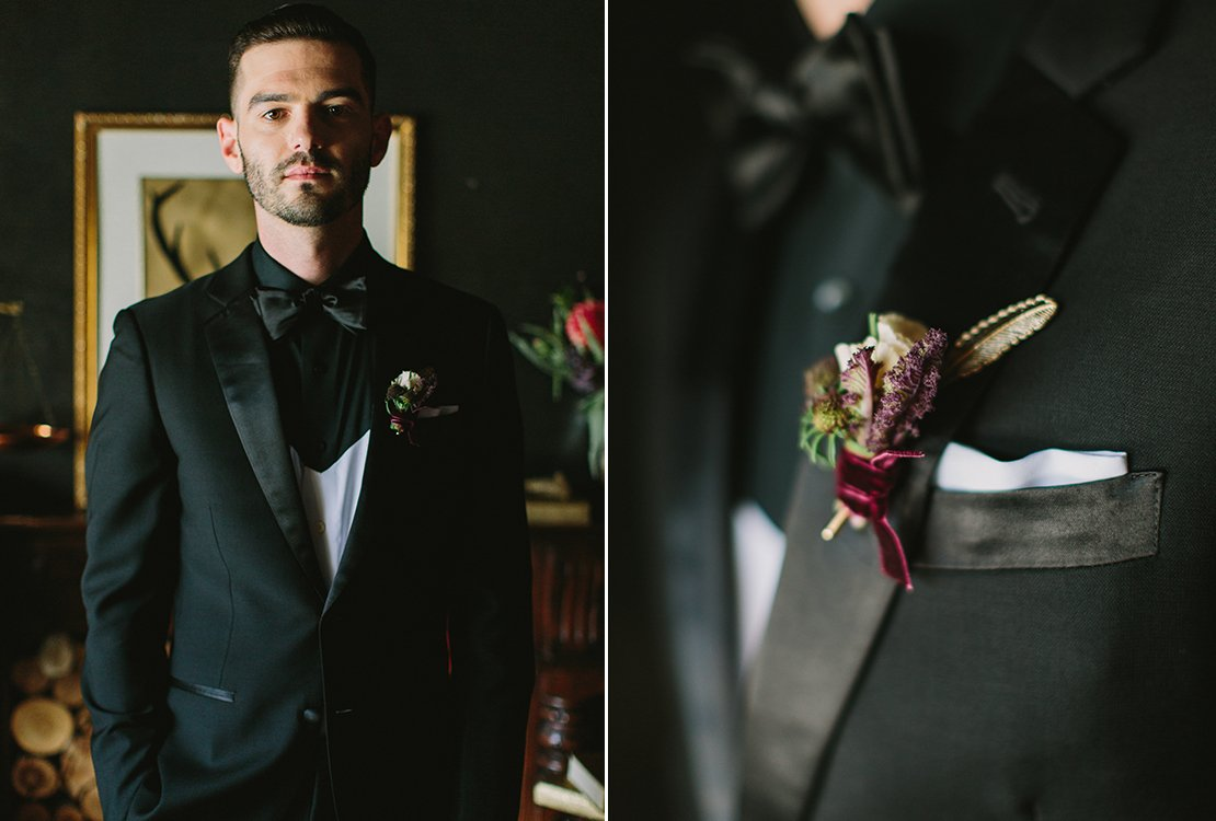 handsome groom speakeasy