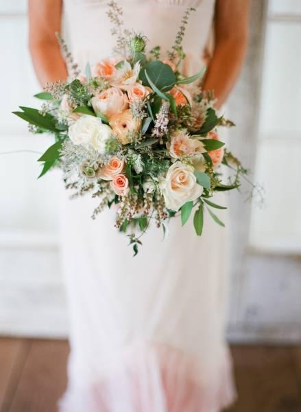 malibu vineyard wedding bouquet