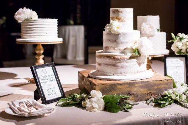 Malibu Rocky Oaks Wedding Cake