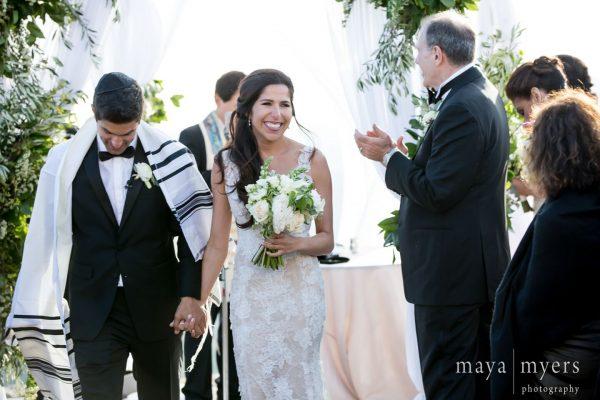 Malibu Rocky Oaks Wedding couple