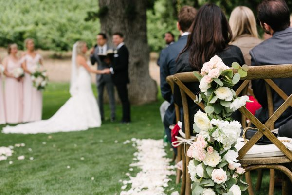 ceremony triunfo creek vineyard wedding