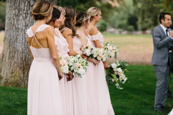 bridesmaids triunfo creek vineyard wedding
