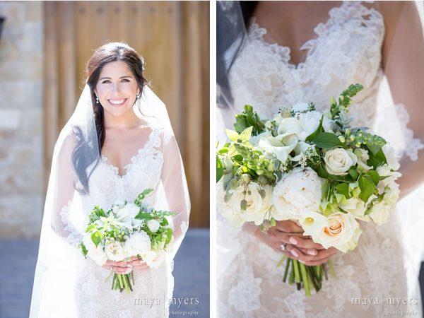 bridal bouquet malibu