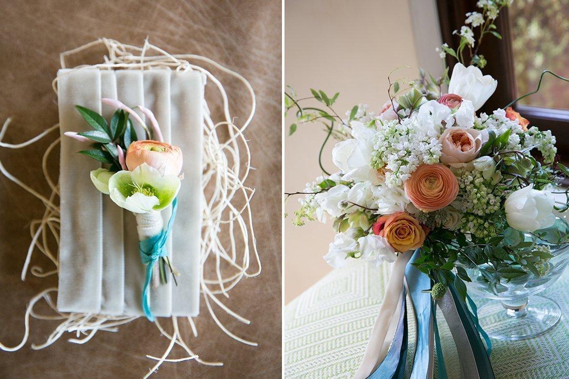 wedding personal florals