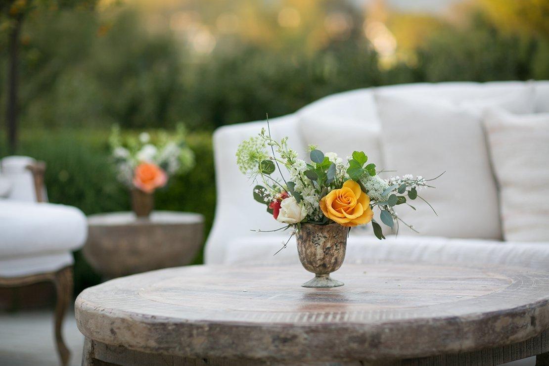 wedding cocktail hour, casa elar