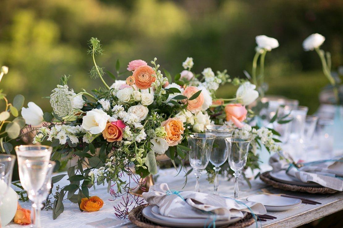 boho reception, wedding