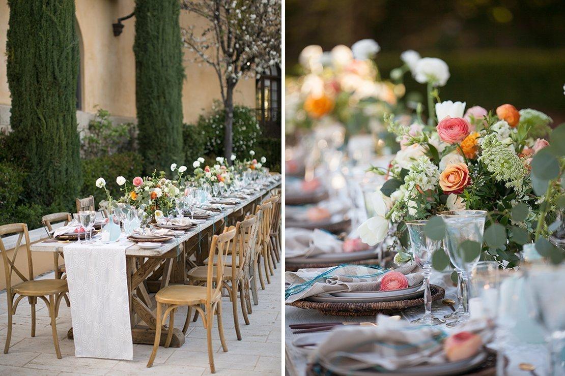 wedding reception, boho chic