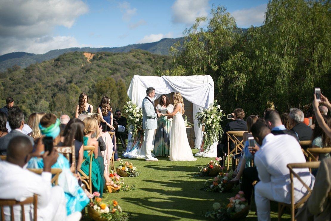 wedding ceremony, ojai valley inn