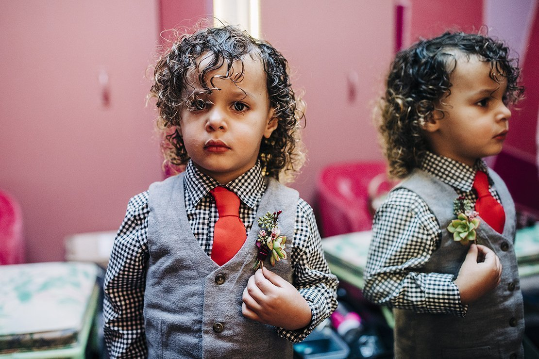boutonniere, ring bearer