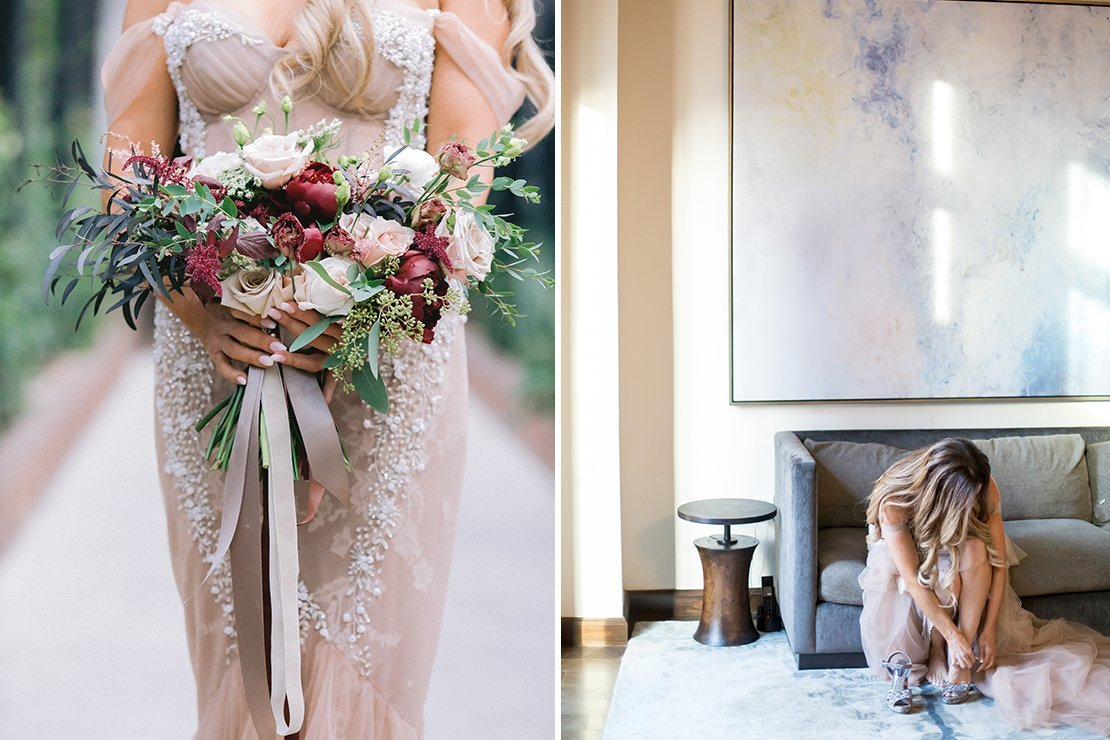 bridal bouquet, los angeles