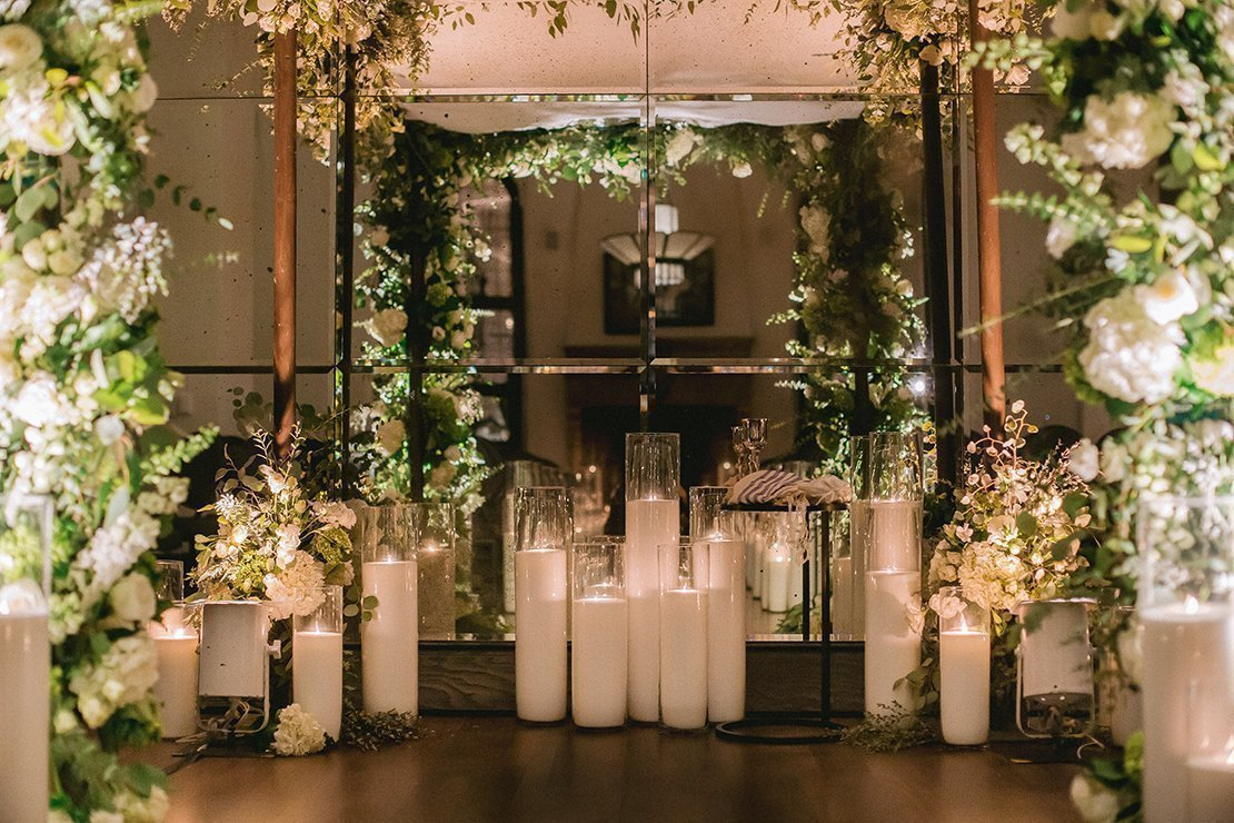 wedding ceremony, hotel figueroa