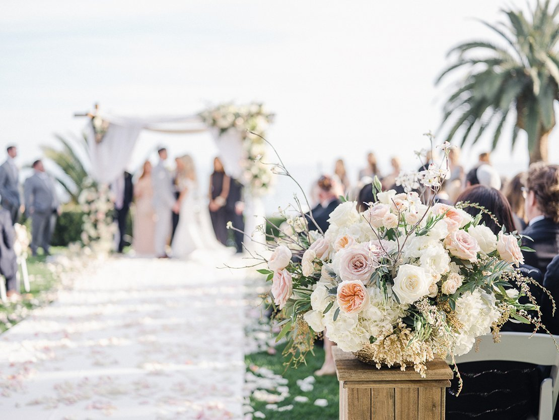 wedding ceremony, santa monica