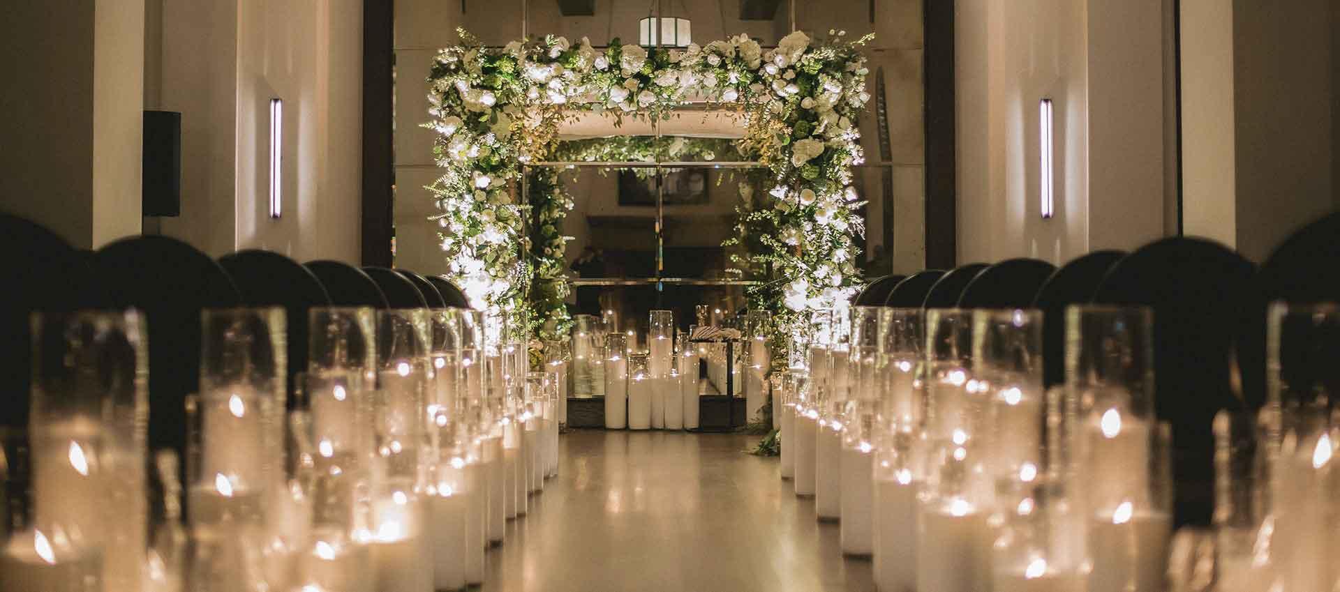 wedding florist los angeles, inside weddings